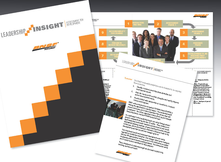 BNSF Leadership Insight Pocket Folder
