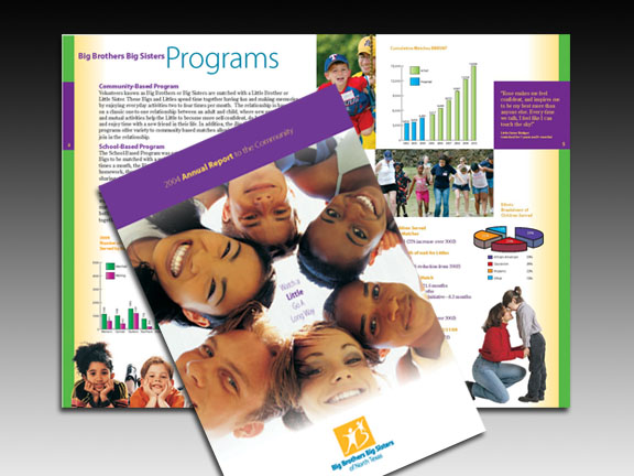 Annual Report for Big Brothers Big Sisters